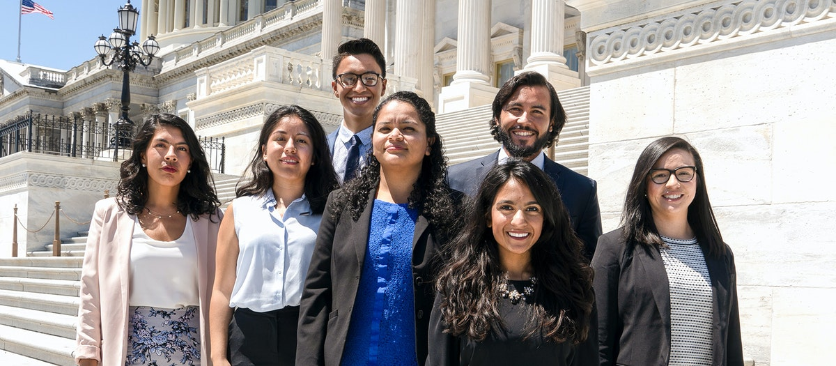 DACA Facts: Dreamers stand outside capitol building to tell Congress to pass a permanent legislative solution